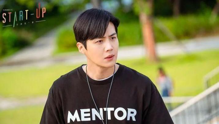 Sinopsis drakor Start-Up episode 16 menyebut Ji-pyeong akan mengutarakan perasaan yang sesungguhnya kepada Dal-mi, terutama arti penting dari surat-surat yang mereka lakukan pada 15 tahun yang lalu. (dok. tvN/Netflix via Hancinema)