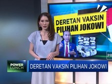 Deretan Vaksin Pilihan Jokowi