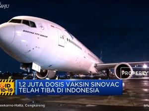 Detik-Detik Kedatangan Vaksin Covid-19, Ini Pesan Jokowi