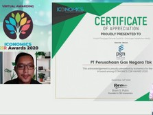 Tanggap COVID-19, PGN Raih Iconomics CSR Awards 2020