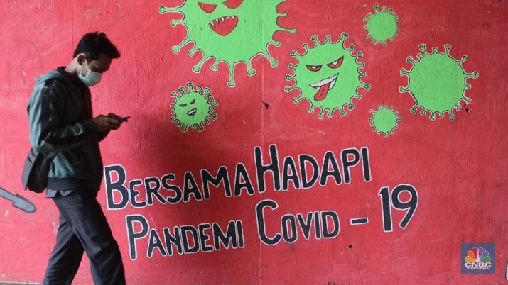 Ilustrasi Covid-19. (CNBC Indonesia/Muhammad Sabki)
