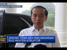 Jokowi Murka! Janji Tak Akan Lindungi Koruptor
