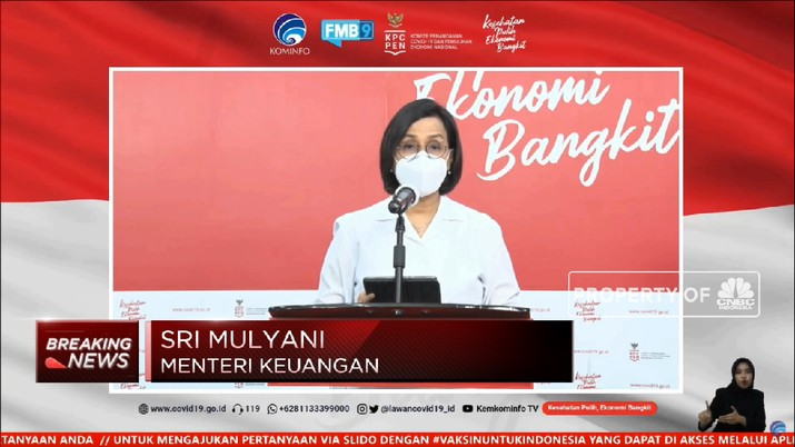 Kemenkeu Bebaskan Bea Masuk 1,2 Juta Vaksin Sinovac (CNBC Indonesia TV)