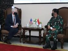Setelah Temui Prabowo, Plt Menhan AS Sowan Panglima TNI