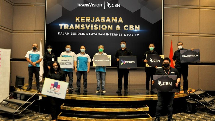 Transvision gandeng CBN hadirkan One Stop Solution untuk segmen Hospitality. Ist