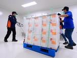 Intip Tempat Penyimpanan Vaksin Sinovac di Bio Farma Bandung