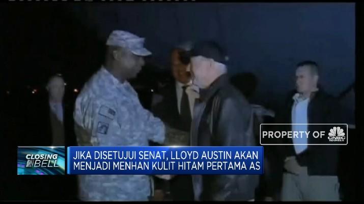 Mantan Jenderal Perang Di Irak Lloyd Austin Calon Kuat Menhan AS
