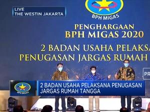 Penghargaan BPH Migas: Badan Usaha Pelaksana Penugasan Jargas