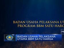 Penghargaan Badan Usaha Pelaksana Utama Program BBM 1 Harga
