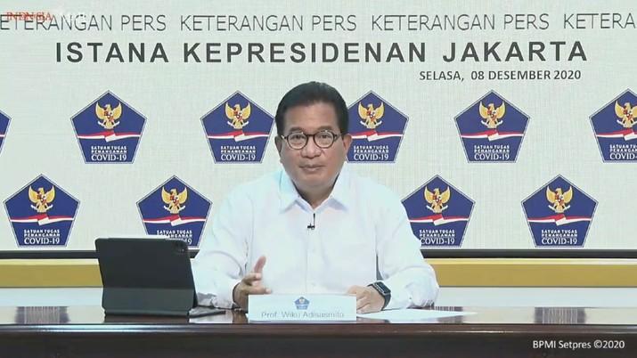Wiku Adisasmito, Koordinator Tim Pakar dan Juru Bicara Pemerintah Untuk Penanganan Covid-19.  (Tangkapan layar BNPB Indonesia)