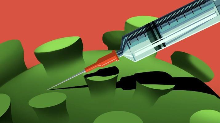 Infografis, 10 Wabah Mematikan Yang Berhasil Diatasi Vaksin