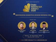 CNBC Indonesia Award 2020, Songsong Kebangkitan RI