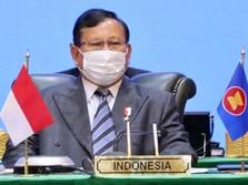 Di Depan Para Menhan Se-ASEAN Prabowo Apresiasi AS