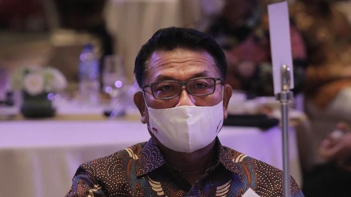 Moeldoko (CNBC Indonesia/Muhammad Sabki)