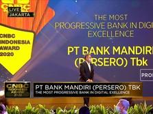 Bank Mandiri, The Most Progressive Bank in Digital Excellence