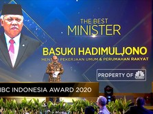 Basuki Hadimuljono, The Best Minister di CNBC Indonesia Award