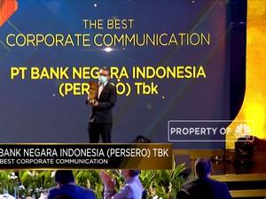 BNI Raih Penghargaan The Best Corporate Communication