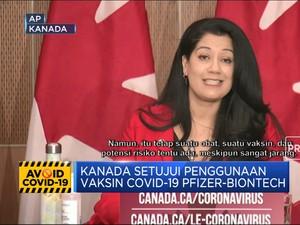 Kanada Setujui Penggunaan Vaksin Covid-19 Pfizer-BioNTech