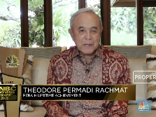 TP Rachmat Raih Lifetime Achievement di CNBC Indonesia Award