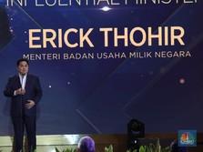 Cerita Erick Soal Kerja 7X24 Jam Demi Kejar Target Jokowi