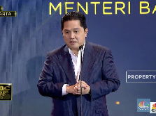 Erick Thohir Raih Penghargaan The Most Influential Minister