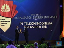 Telkom Raih The Best Digitalization Enabler Enterprise
