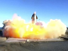 Elon Musk Jelaskan Detik-detik Meledaknya Roket SpaceX