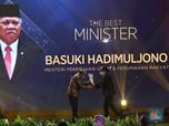 Basuki Hadimuljono Raih Penghargaan The Best Minister 2020