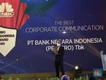 Bank BNI Raih Penghargaan The Best Corporate Communication