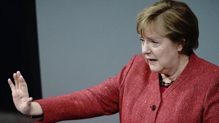 Angela Merkel. (AP/Markus Schreiber)