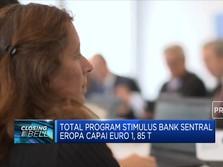 Bank Sentral Eropa Cetak Rp 8.530 T Untuk Stimulus Covid-19