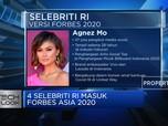 BTS Hingga Agnez Mo Masuk dalam Daftar Bintang Digital Forbes