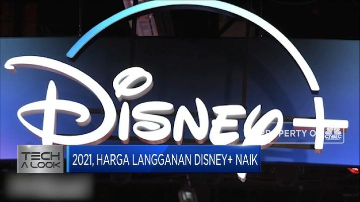 Harga Langganan Disney+ Naik pada 2021