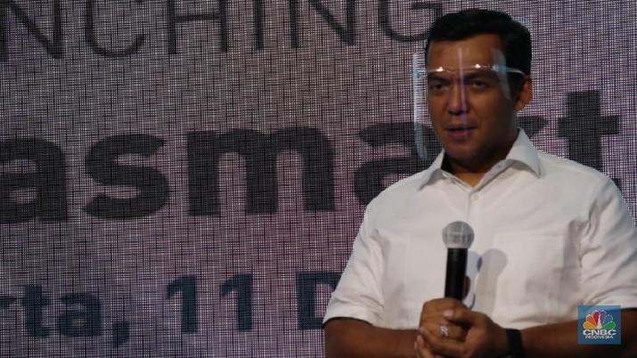 Krakatau Steel Luncurkan Aplikasi Digital Krasmart Connect/Rahajeng Kusuma CNBC Indonesia