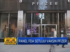 Panel FDA Setujui Vaksin Pfizer