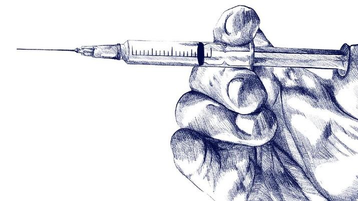 INFOGRAFIS, Vaksinasi Covid-19, Kelompok Prioritas Fase Pertama