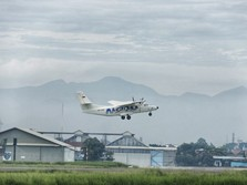 Melihat Pesawat N219 Amphibi Buatan RI Mengudara