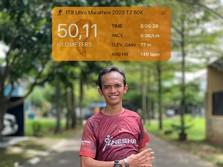 Bebas Corona, Ini Keseruan BNI-ITB Virtual Ultra Marathon