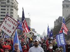 Massa Trump Ngamuk! Serbu Capitol AS, Pengesahan Biden Setop