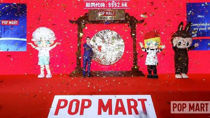 Wang Ning Pemilik Pop Mart (Tangkapan Layar Instagram @popmartglobal)
