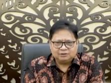 Bukan Jokowi, Airlangga Buka Perdagangan Saham BEI 2021