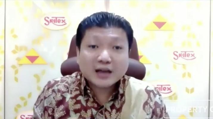 Direktur Utama PT. Sri Rejeki Isman Tbk (Sritex/SRIL) Iwan Setiawan Lukminto. (CNBC Indonesia TV)