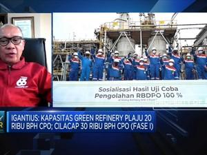 Kado HUT RI, Pertamina Produksi D100 Sebanyak 1.000 BPH