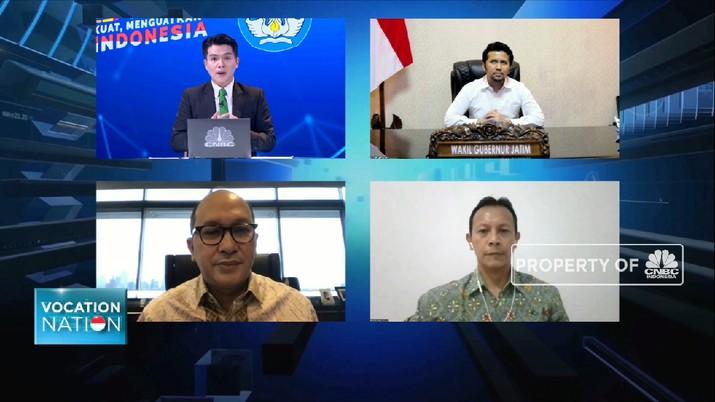 Membangun Ekonomi Lewat Peningkatan Daya Saing Tenaga Vokasi (CNBC Indonesia TV)