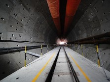 Terowongan Halim Tembus 1,8 Km, Proyek Kereta Cepat Capai 63%