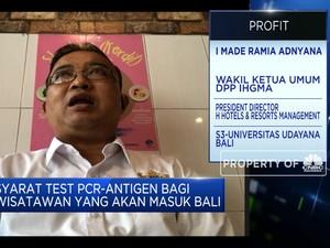 Ada Syarat Tes PCR, Pesanan Hotel Bali Banyak yang Dibatalkan