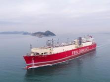 Uji Coba Kelar, Pertamina Gelar Penamaan Kapal FSRU Jawa Satu