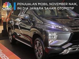 Penjualan Mobil November Naik, Ini Dia Jawara Saham Otomotif
