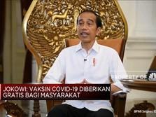 Presiden Jokowi Pastikan Vaksin Covid-19 Gratis!
