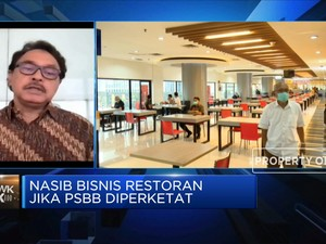 PSBB Ketat, Pengusaha Minta Operasi Restoran Tak Dikurangi